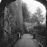 Sperrbogen, Hohensalzburg Fortress, Salzburg, Austria, C1900 Photographic Print by  Wurthle & Sons