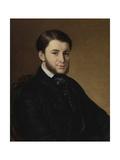 Portrait of Leonid Matveyevich Muromtsev (1825-189) Giclee Print by Vasili Andreyevich Tropinin