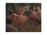 Dancers in Pink Giclee Print by Jean-Louis Forain