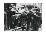 Soup Kitchen for the Needy, Les Halles, German-Occupied Paris, February 1941 Giclee Print