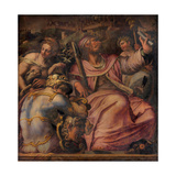 Allegory of Certaldo, 1563-1565 Giclee Print by Giorgio Vasari