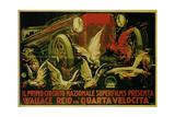 Wallace Reid in Film Double Speed, 1920 Giclee Print by Gabriele Galantara