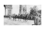 General Montuori and Italian Troops During the Victory Parade, Paris, France,14 July 1919 Giclee Print