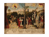 Law and Grace Giclee Print by Lucas Cranach the Younger