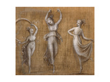 Three Dancers Giclee Print by Antonio Canova