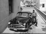 Men with a 1949 Customised Chevrolet, (C1949) Photographic Print