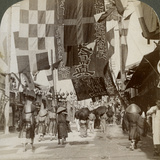 Dotombori, or Theatre Street, Osaka, Japan, 1904 Photographic Print