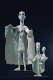 Bronze Mother and Child Statutes, Nuragici Culture, Siniscola, Sardinia, 9th-6th Century BC Photographic Print