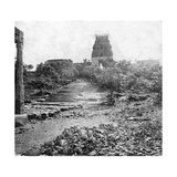 A Ruined Temple Near Madras, India, 1874 Giclee Print