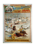 Sells Brothers' Enormous Shows, Ca 1885 Giclee Print