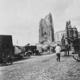 The Hotel De Ville, Arras, France, World War I, C1914-C1918 Photographic Print by  Nightingale & Co