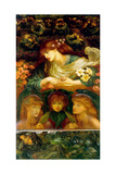 The Blessed Damozel Giclee Print by Dante Gabriel Rossetti