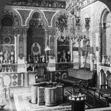 The Reception Room of a Pasha, Damascus, Syria, 1905 Photographic Print