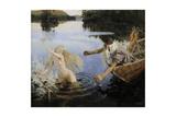 The Aino Triptych, 1891 Giclee Print by Akseli Gallen-Kallela