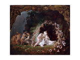 Titania Sleeping Giclee Print by Richard Dadd