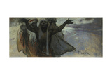 Study for the Slav Epic Giclee Print by Alphonse Mucha