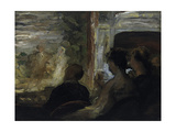 The Theatre Box Giclee Print by Honoré Daumier