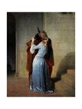 El beso Lámina giclée por Francesco Hayez