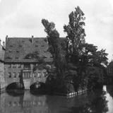 Holy Spirit Hospital, Nuremberg, Bavaria, Germany, C1900s Photographic Print by  Wurthle & Sons