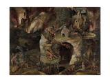 Inferno Landscape Giclee Print by Hieronymus Bosch