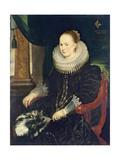 Portrait of Antonia Canis Giclee Print by Cornelis de Vos