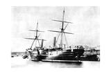 American Transatlantic Steamship, Arago, 1856 Giclee Print