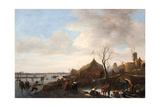 Winter Scene Giclee Print by Jan Havicksz Steen
