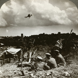 Mortars in the Trenches, World War I, 1914-1918 Photographic Print