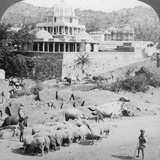 Temples of the Jains, Mount Abu, India, 1902 Photographic Print by  Underwood & Underwood