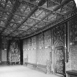 Prince's Chamber, Salzburg Fortress, Austria, C1900 Photographic Print by  Wurthle & Sons