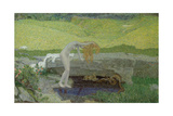 Vanity (The Source of Evi) Giclee Print by Giovanni Segantini