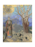 The Buddha, 1906-1907 Giclee Print by Odilon Redon