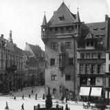 Nassauer Haus, Nuremberg, Bavaria, Germany, C1900 Photographic Print by  Wurthle & Sons
