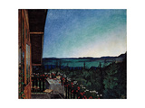 Summer Night Giclee Print by Harald Sohlberg