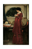 The Crystal Ball Giclee Print by John William Waterhouse