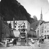 The Pferdeschwemme (Horse Wel), Salzburg, Austria, C1900s Photographic Print by  Wurthle & Sons