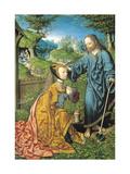 Noli Me Tangere Giclee Print by Jacob Cornelisz van Oostsanen