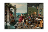 The Allegory of Hearing Giclee Print by Jan Brueghel the Younger