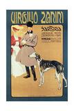 Virgilio Zanini Tailoring, 1900 Giclee Print by Gian Luciano Sormani