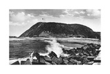 Bluff and Lighthouse, Durban, South Africa Giclee Print