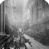 Interior of Westminster Abbey, London, Late 19th Century Photographic Print