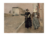 Gust of Wind Giclee Print by George Hendrik Breitner