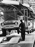 Ford Escort Production Line, 1973 Fotodruck
