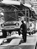 Ford Escort Production Line, 1973 Photographic Print