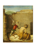 Theseus Slaying Minotaur, 1505 Giclee Print by Giovanni Battista Cima Da Conegliano