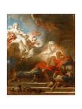 The Warrior's Dream of Love Reproduction procédé giclée par Jean-Honoré Fragonard