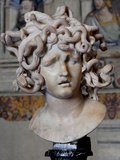 Head of Medusa, 1630 Photographic Print by Gianlorenzo Bernini