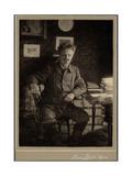 August Strindberg Giclee Print by Lina Jonn