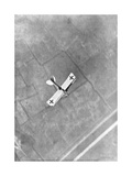 A German Aviatik Aircraft Photographed in Flight by a Belgian Aviator, Ypres, Belgium, 1916 Giclee Print