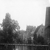 The Pegnitz River, Nuremberg, Germany, C1900s Photographic Print by  Wurthle & Sons